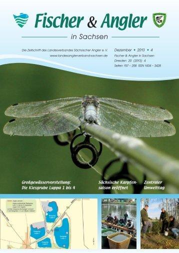 Ausgabe 4/2013 - Landesverband Sächsischer Angler e.V.
