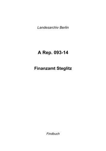 A Rep. 093-14 - Landesarchiv Berlin