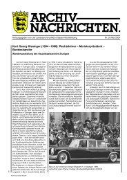 Archivnachrichten Nr. 28 - Landesarchiv Baden Württemberg