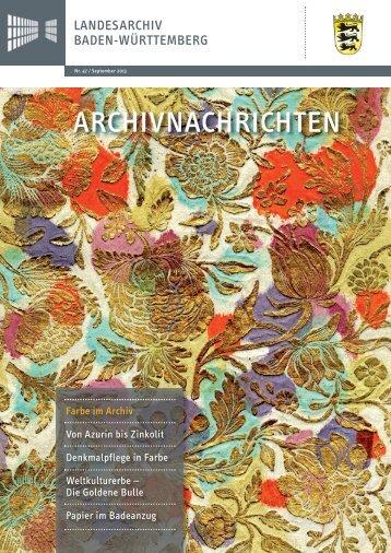 Archivnachrichten Nr. 47 , September 2013 (application/pdf 18.0 MB)
