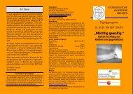 Tagungsprogramm - Landeselternrat Sachsen