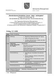 Tagesordnung - Landeselternrat Sachsen