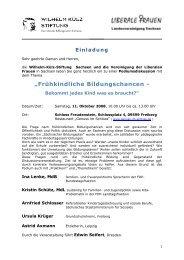 Flyer - Landeselternrat Sachsen