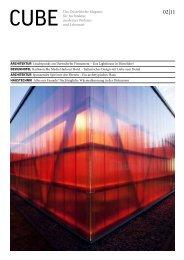 CUBE Das Düsseldorfer Magazin für Architektur, modernes Wohnen ...