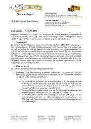 Schülerbeförderung - Landeselternrat Sachsen