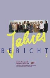 Jahresbericht LFRN 2010.pdf - Landesfrauenrat Niedersachsen
