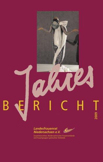Jahresbericht LFRN 2009.pdf - Landesfrauenrat Niedersachsen e.V.