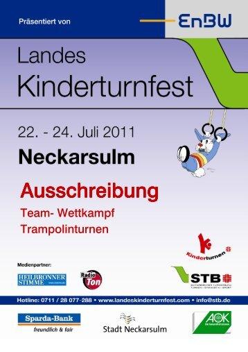 Ausschreibung Team Wettkampf Trampolin - Landeskinderturnfest ...