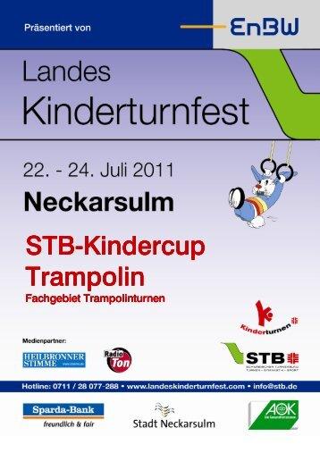 STB Kindercup FG Trampolin LKTF - Landeskinderturnfest 2011