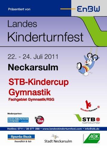 STB Kindercup FG Gymnastik LKTF - Landeskinderturnfest 2011