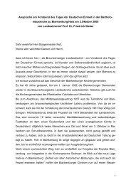 Ansprache am Vorabend des Tages der Deutschen Einheit in der ...
