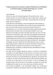 33. Deutscher Evangelischer Kirchentag in Dresden