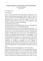 Gottesdienst am 26. Februar 2012 - Evangelisch-lutherischen ...