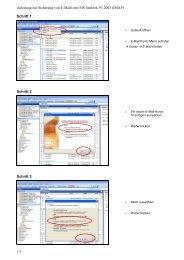 Anleitung zur Sicherung von E-Mails mit MS Outlook 97-2003 (IMAP ...