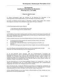 4.0.2.0 Kirchengesetz betr. die Besetzung von Pfarrstellen v. 11. 3 ...