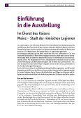 """Leseprobe """"Römisches Mainz"""" - Landesmuseum Mainz - Seite 4"""