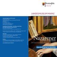 Rahmenprogramm - Landesmuseum Mainz