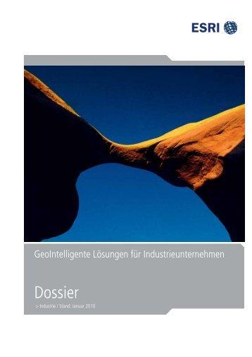 Dossier Industrie - Esri Deutschland Gmbh