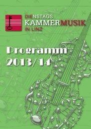 Programm 2013/14 - Oberösterreichisches Landesmuseum