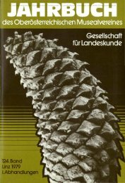 Gesellschaft für Landeskunde - Oberösterreichisches Landesmuseum