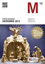 programm Dezember 2013 - Oberösterreichisches Landesmuseum