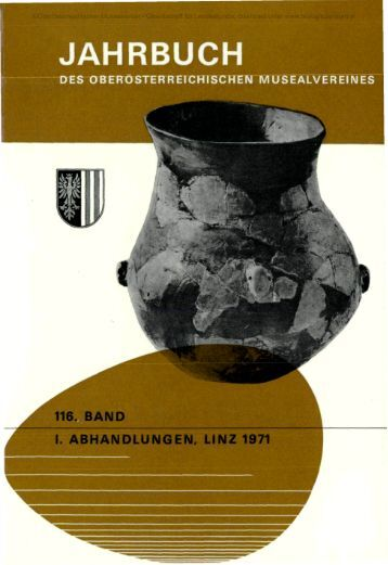 i. abhandlungen, linz 1971 - Oberösterreichisches Landesmuseum