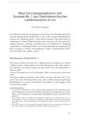 Neue Forschungsergebnisse zum Graduale Ms. 1 des ...