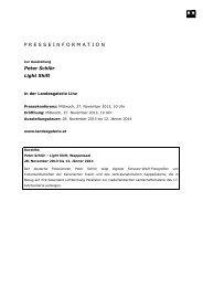 presseinformation - Oberösterreichisches Landesmuseum