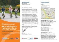 finden Sie die Einladung zum Fahrrad-Kongress 2012.