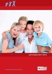 LVW Jahresbericht 2012 - Landesverkehrswacht Niedersachsen eV
