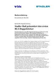 Stadler Rail pr