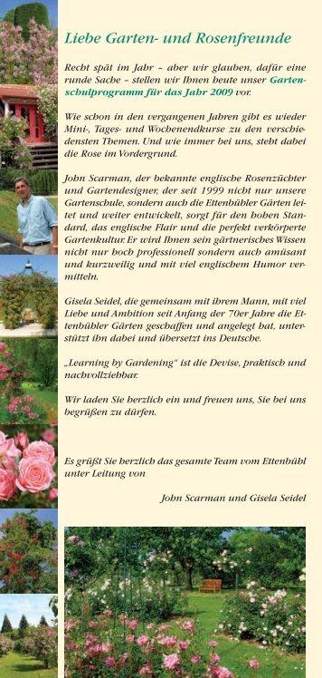 Liebe Garten - Rosen kaufen, Gartenkurse, Rosengarten ...