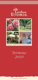 Termine 2010 - Rosen kaufen, Gartenkurse, Rosengarten ...