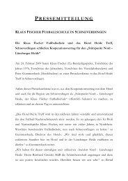 PRESSEMITTEILUNG - Landhotel Schnuck