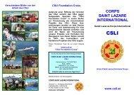 CSLI Foundation Cross - Landhotel Schnuck