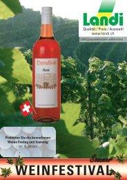 WEINFESTIVAL - LANDI Jungfrau AG