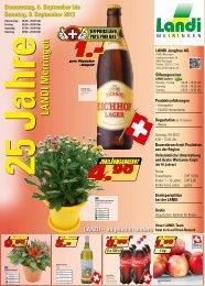 20.00 Uhr Sonntag 08.00 - LANDI Jungfrau AG