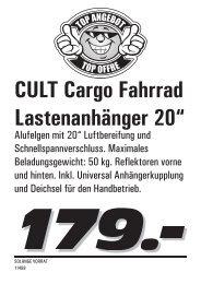 Fahrräder und Zubehör 2013 (pdf / 1868 KB) - LANDI Jungfrau AG