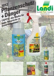 Pflanzenschutz + Dünger - Landi