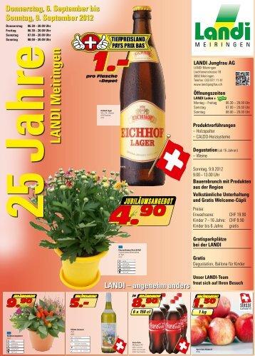 LANDI Meiringen - LANDI Jungfrau AG