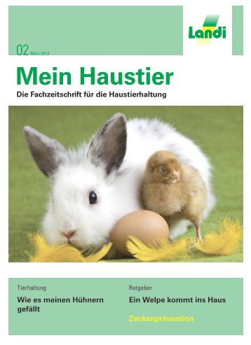 Mein Haustier - LANDI Jungfrau AG
