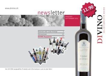 newsletter - Divino
