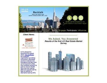 LCI's e-zine 2012 October - Landis Communications Inc.