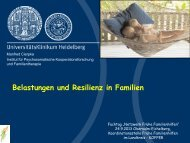 Vortrag Prof. Dr. Manfred Cierpka - Landkreis Heilbronn