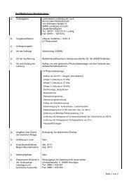 Veröffentlichung im Bayerischen Staatsanzeiger - Landkreis ...