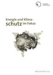 Energiereport 2012 - Landkreis Ludwigsburg