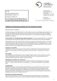 Info-Schreiben: Windpocken - Landkreis Ludwigsburg
