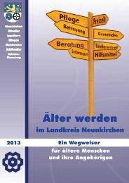 Seniorenwegweiser NK 2013 PDF - Landkreis Neunkirchen