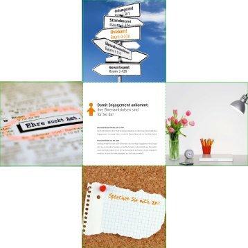 Flyer / Broschüre aufrufen