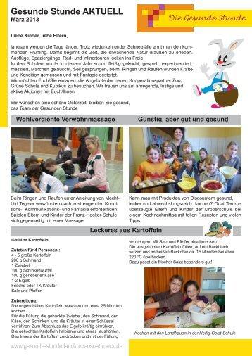 März 2013 / Newsletter - Landkreis Osnabrück